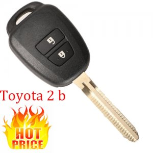 HOT-04 Remote Car Key Shell for Toyota Camry 2 Buttons
