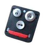 T-470 For Honda 3 Buttons remote key shell Blanks