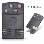 MAZ-12 For Mazda 3 Buttons Smart Remote key shell Case cover