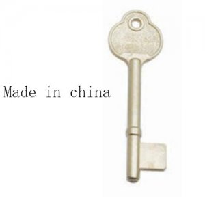 o-147 Zinc Alloy House key blanks for made in china