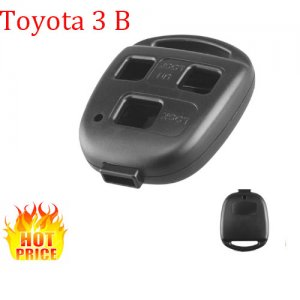 Hot-10 For Toyota 3 button car key shell Toy43