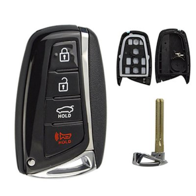 HY-41 Auto Smart Key Shell 4 Buttons Fit for Hyundai
