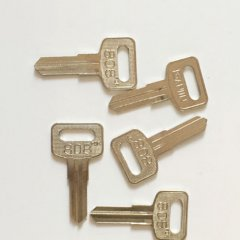 Steel key blanks