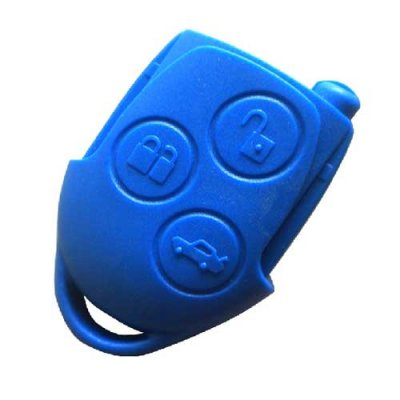 T-414 For Ford 3 Buttons Remote key shell head Bule colour
