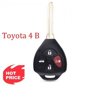 Hot-03 4 Buttons Remote Blank Key Fob Shell for toyota